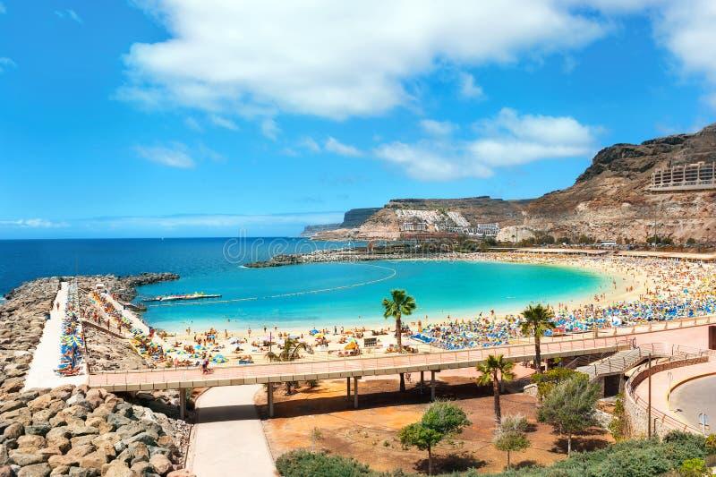 Пляж Amadores стоковые фото