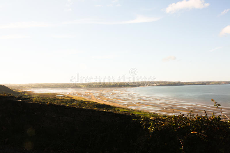 Пляж Anglesey стоковые изображения