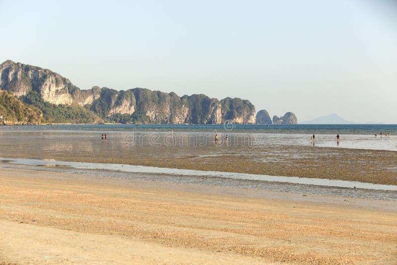 Пляж Aonang стоковое изображение