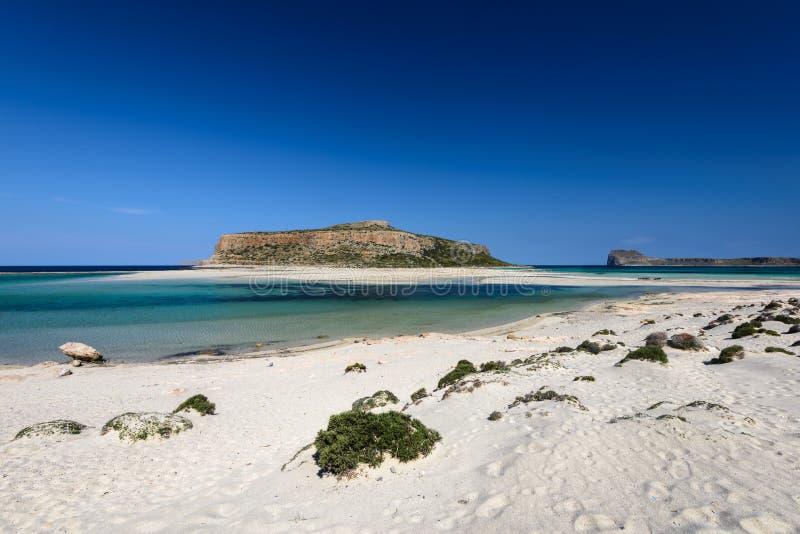 Пляж Balos в западном Крите, Греции стоковые изображения