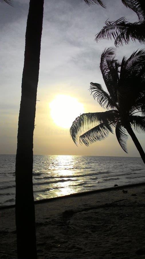 Пляж Bangsean стоковая фотография rf