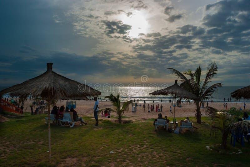 Пляж Bijilo стоковые фото