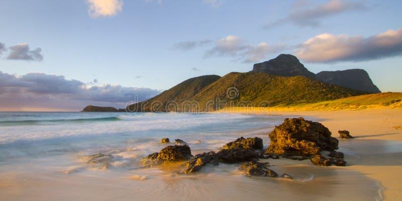 Пляж Blinky стоковое фото
