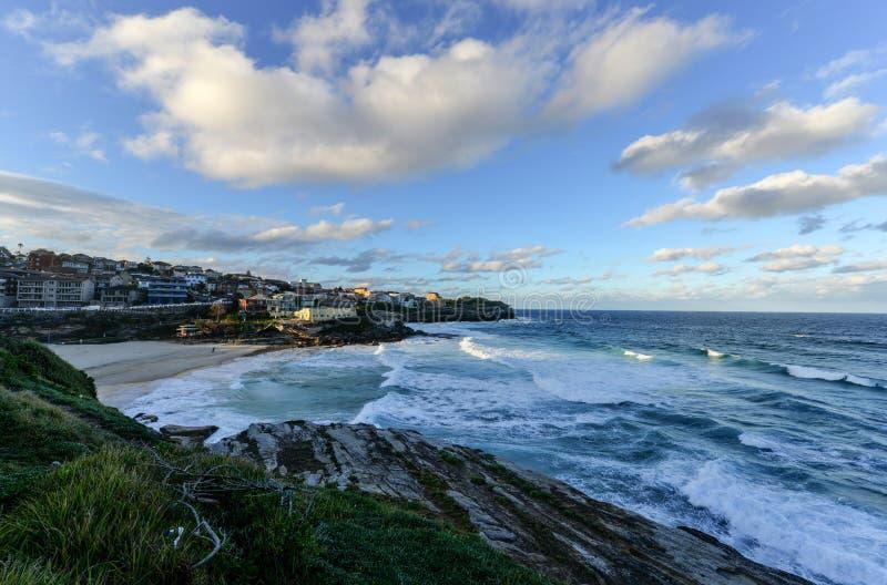 Пляж Bondi, Сидней стоковые изображения