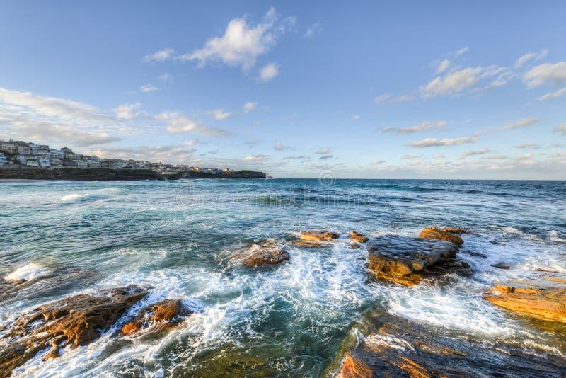 Пляж Bondi, Сидней стоковая фотография