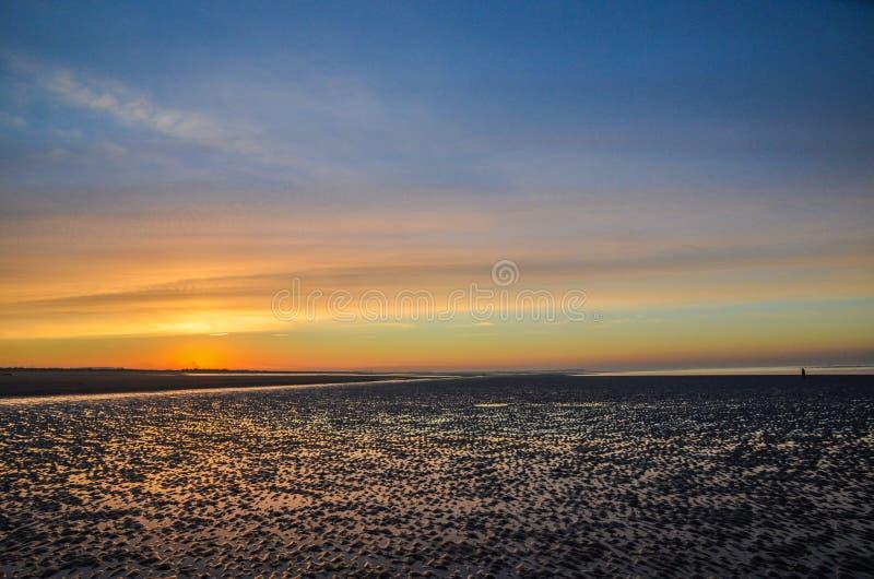 Пляж Brancaster стоковое изображение