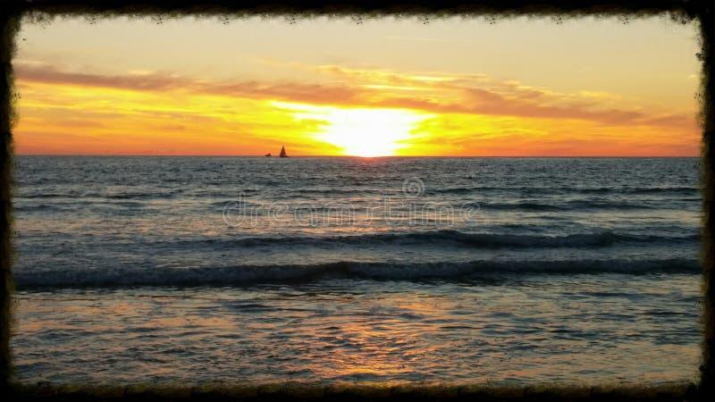 пляж california venice стоковое фото rf