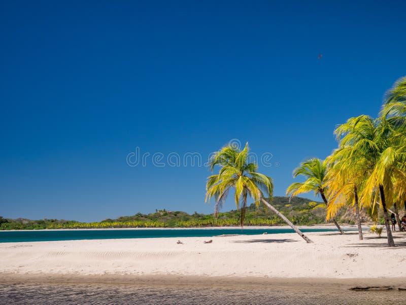 Пляж Carrillo в близко самары стоковые изображения rf
