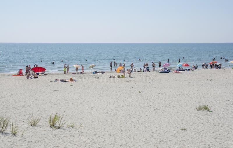 Пляж Corbu, Румыния стоковые фото