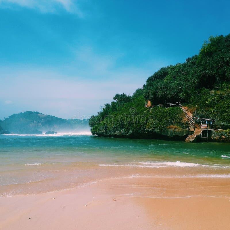пляж drini стоковое изображение