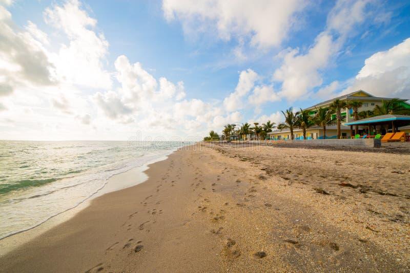 Пляж Englewood стоковое фото rf