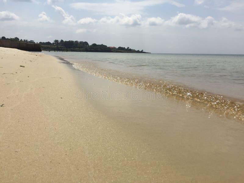 Пляж Entebbe Lido стоковая фотография rf