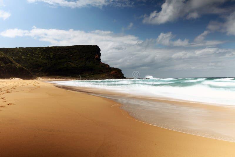 Пляж Garie стоковые фотографии rf