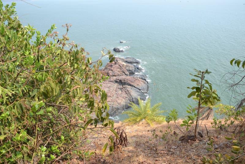 Пляж Gokarna стоковая фотография rf