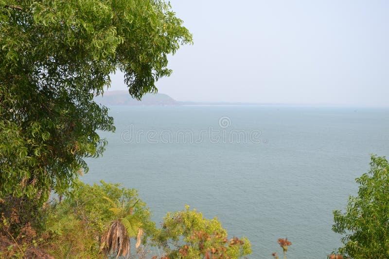 Пляж Gokarna стоковое фото rf