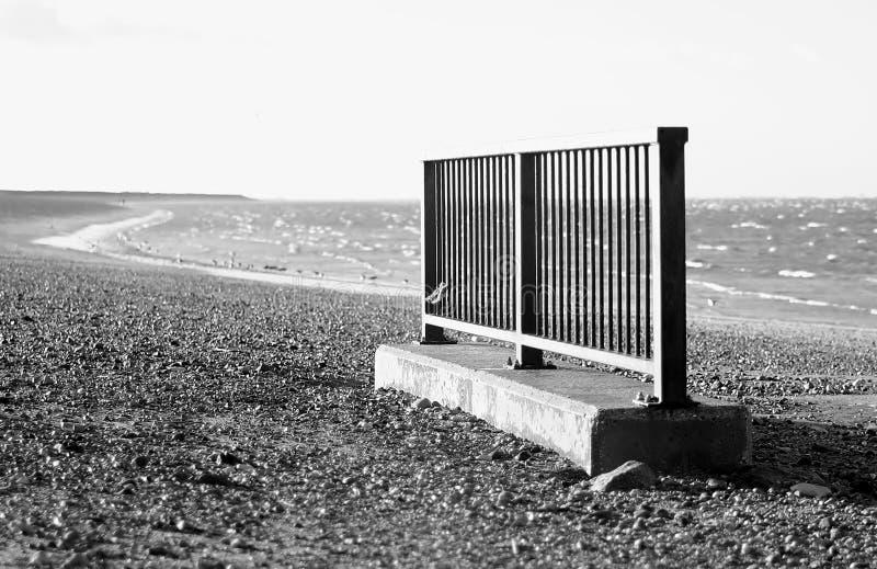 Пляж Heacham стоковые фотографии rf