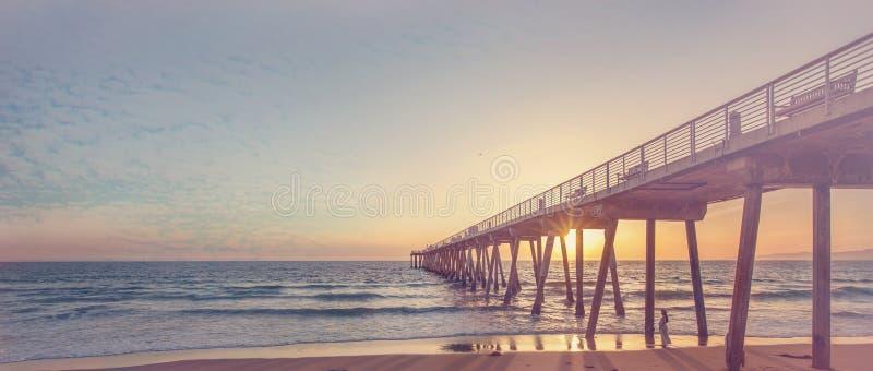 Пляж Hermosa стоковые фото