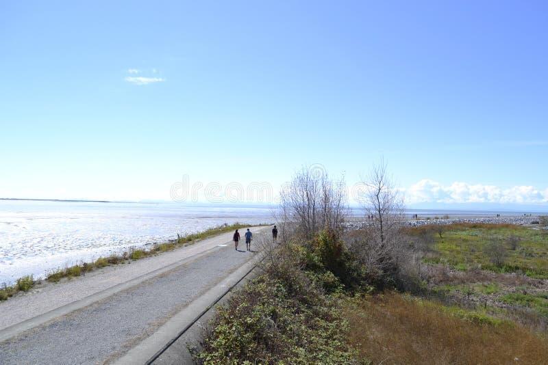 Пляж Iona стоковое фото