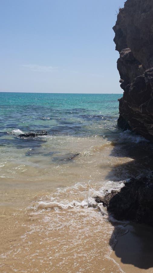 Пляж Jandia стоковые фотографии rf