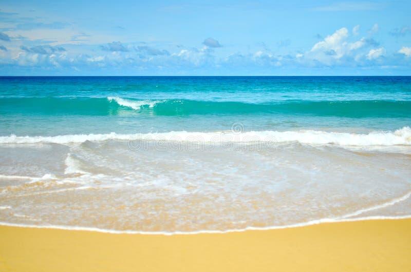 Пляж Karon, Пхукет, Таиланд стоковая фотография