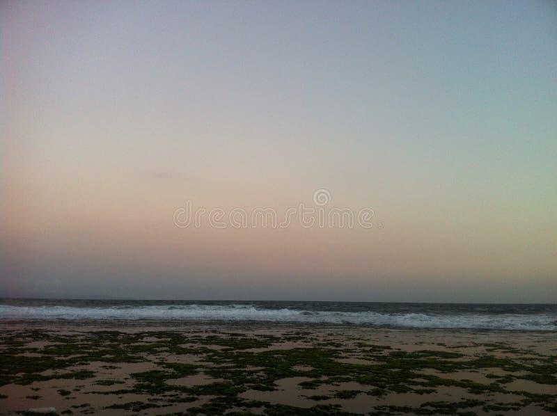 Пляж Kermas стоковое изображение