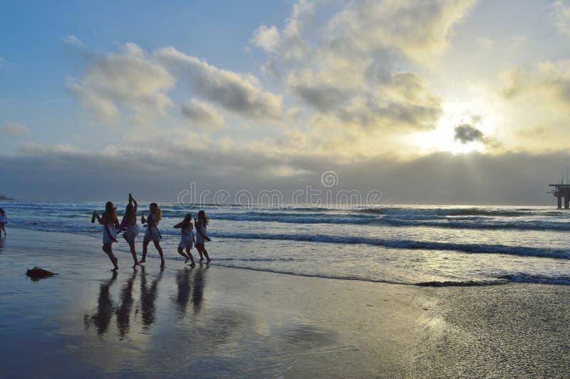 Пляж La Jolla стоковая фотография