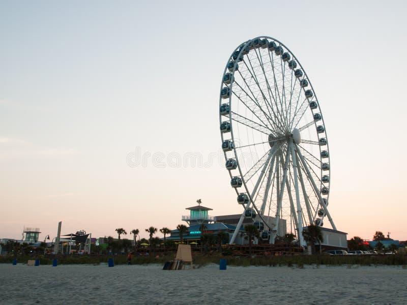 Пляж Myrtle стоковое фото