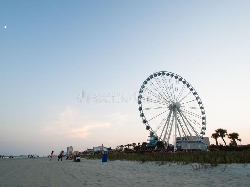 Пляж Myrtle стоковая фотография