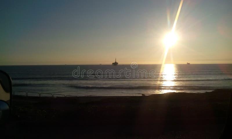 пляж newport стоковое изображение rf