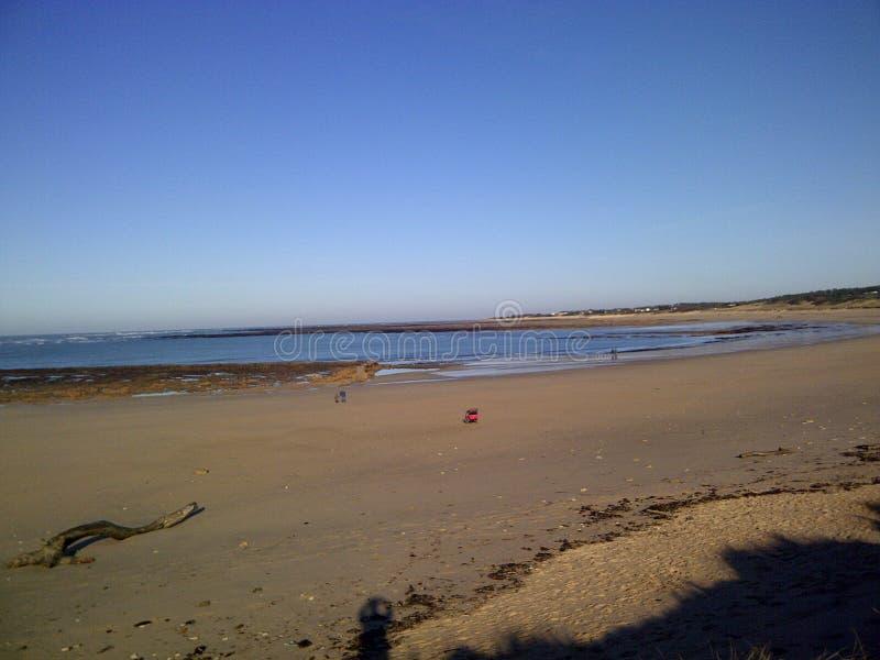Пляж Oleron стоковая фотография