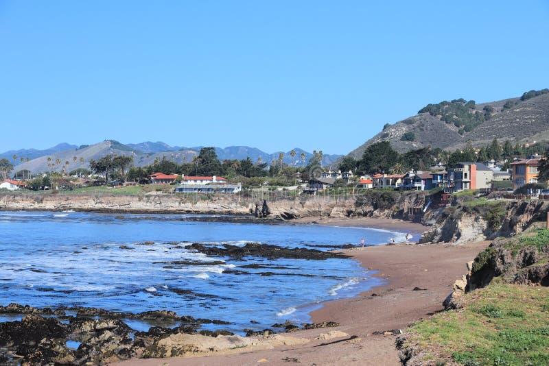 Пляж Pismo стоковые изображения rf