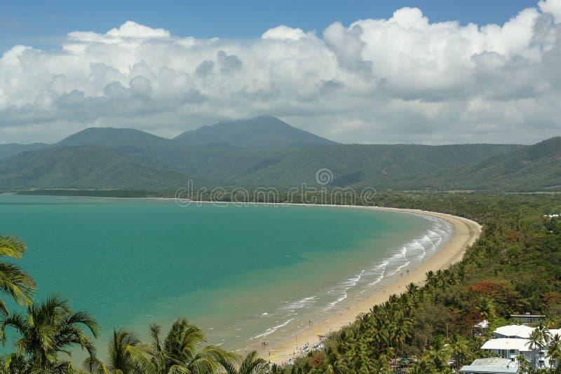 Пляж Port Douglas 4 миль стоковые фото