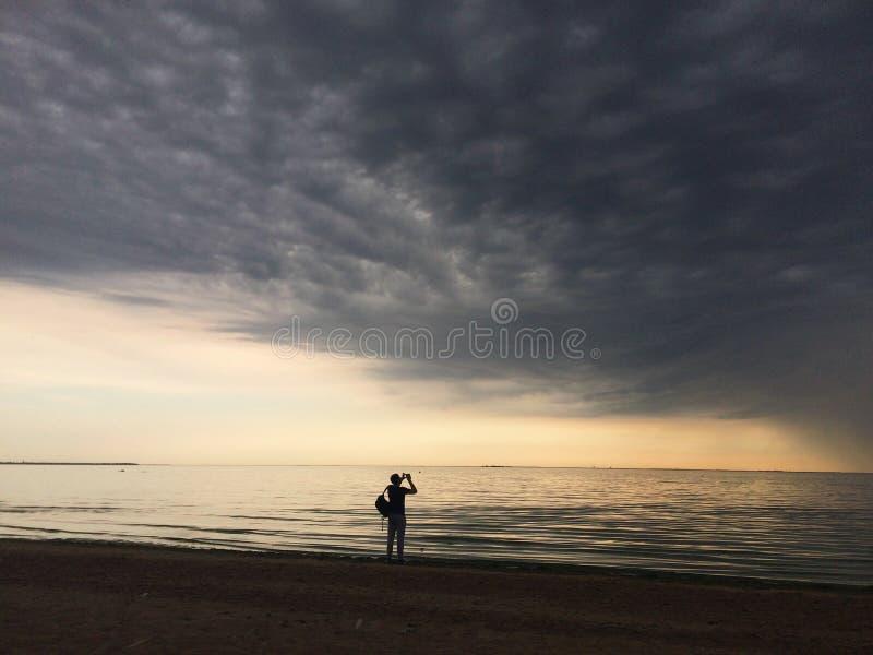 Пляж Repino, Санкт-Петербург стоковое изображение rf