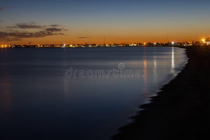 Пляж Rockport Техаса стоковое фото rf