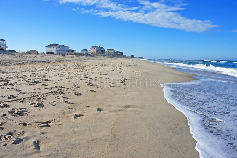 Пляж Rodanthe стоковые изображения
