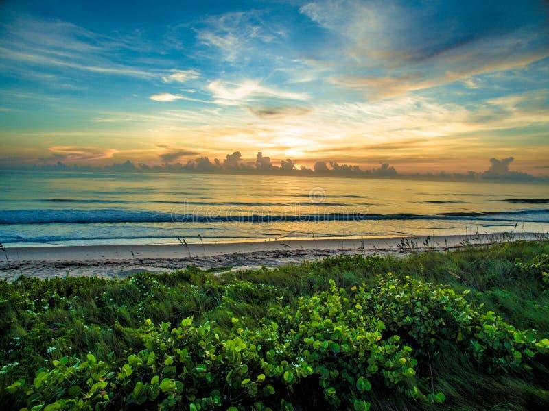 Пляж Sebastian стоковая фотография