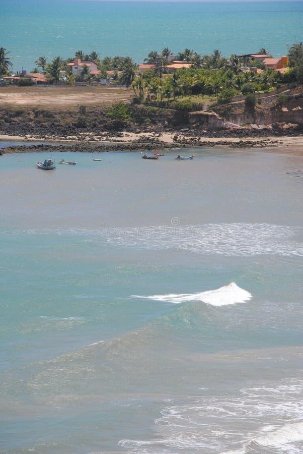 Пляж Tabatinga стоковые изображения