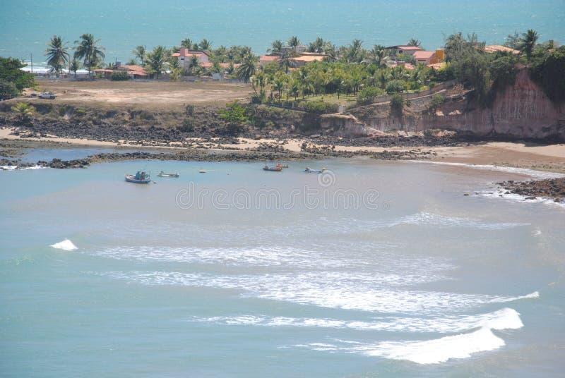 Пляж Tabatinga стоковые изображения rf