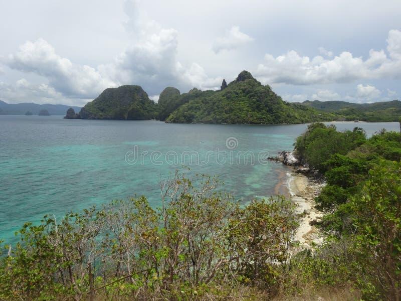 Пляж Talisay стоковое изображение rf