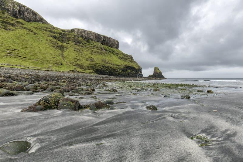Пляж Talisker стоковые изображения rf