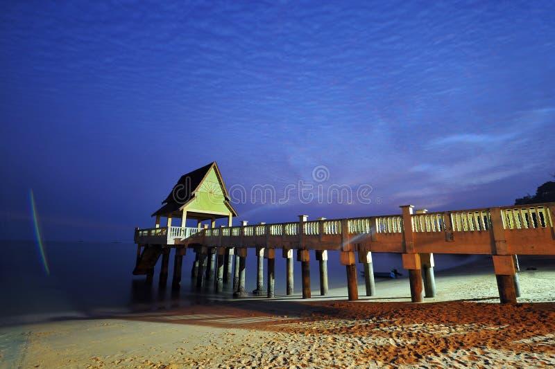 Пляж Tanjung Bibara стоковое фото
