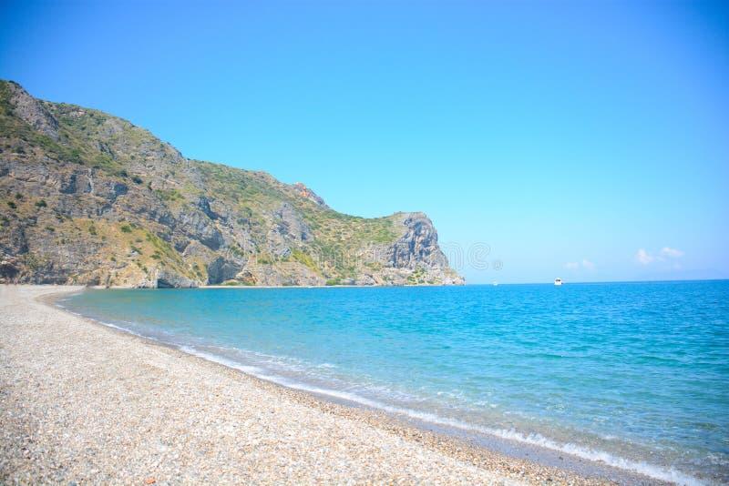 Пляж Tindari стоковая фотография rf