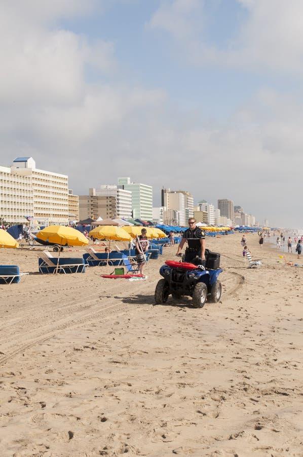 пляж virginia стоковая фотография rf
