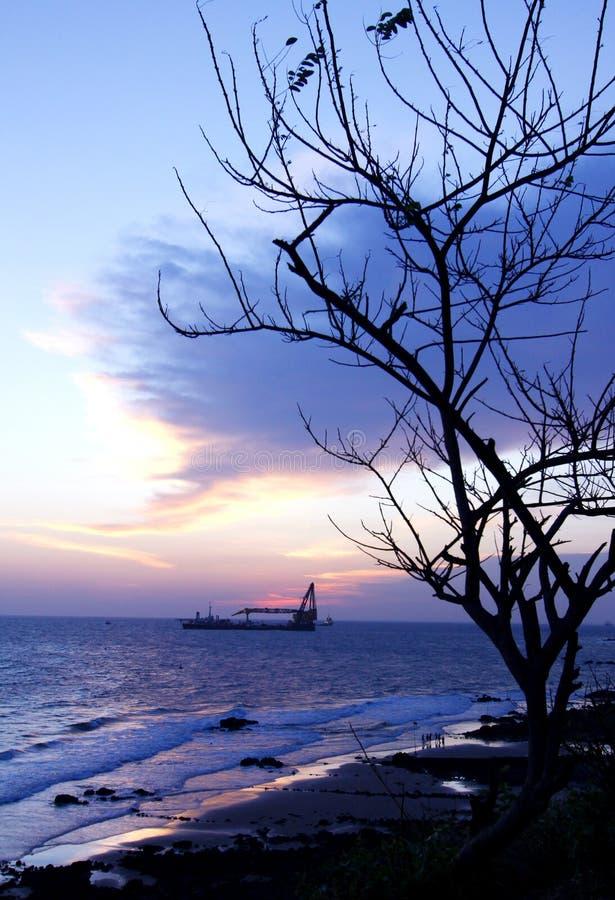 Пляж 02 Vung Tau стоковая фотография rf