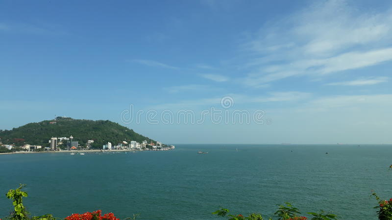 Пляж Vung Tau стоковое фото rf