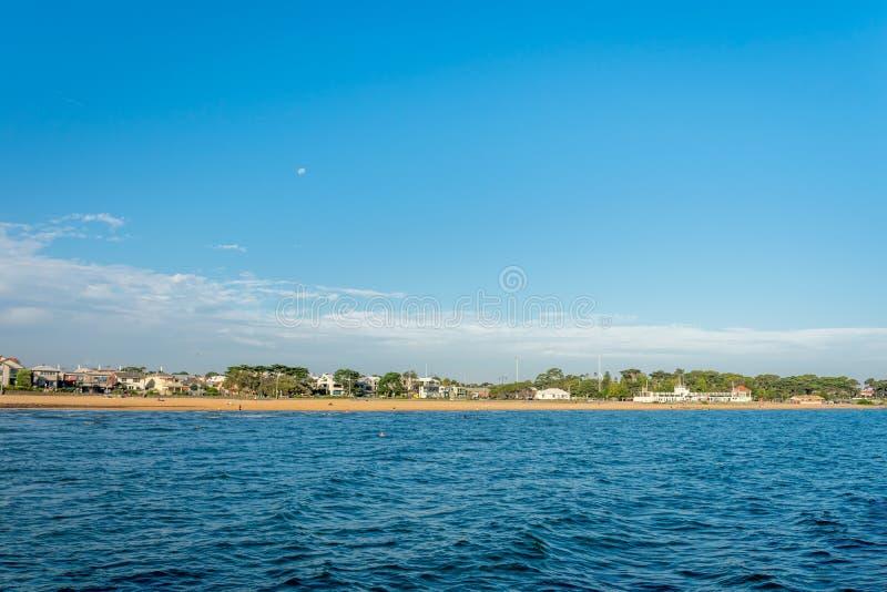 Пляж Williamstown стоковое изображение rf
