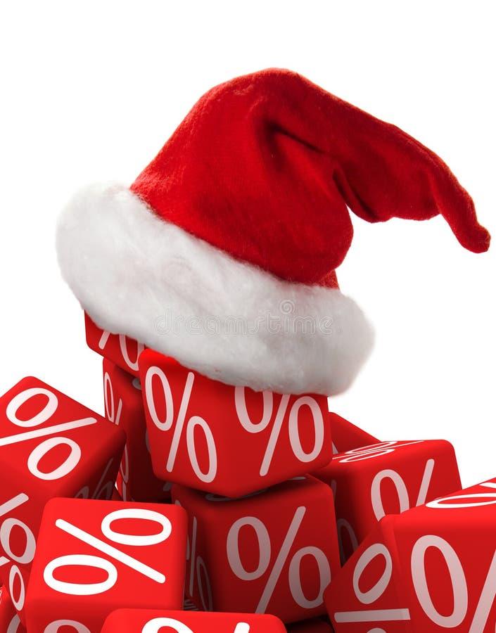 рабат рождества стоковое изображение rf