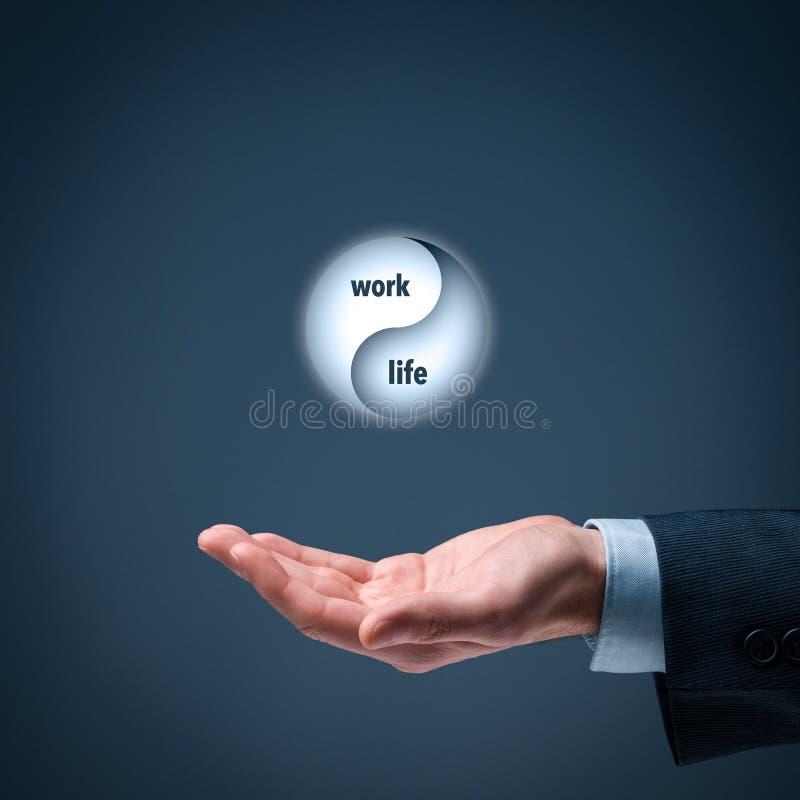 Работайте баланс жизни стоковая фотография