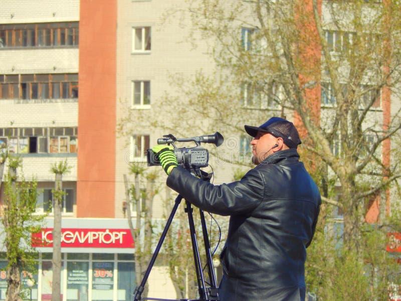 работа влияния dof оператора отмелая стоковое фото