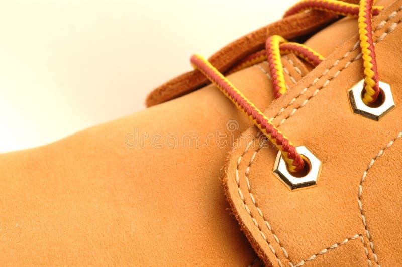 работа детали ботинка стоковые изображения